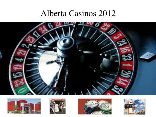 Alberta Casinos 2012