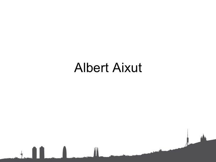 Albert Aixut (português) slide share