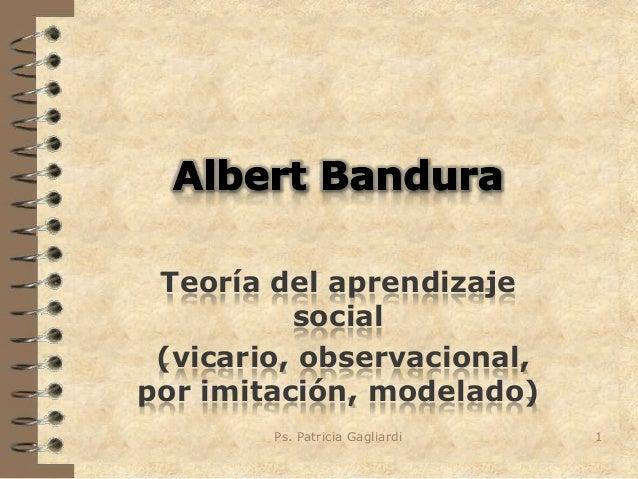Albert bandura 2013