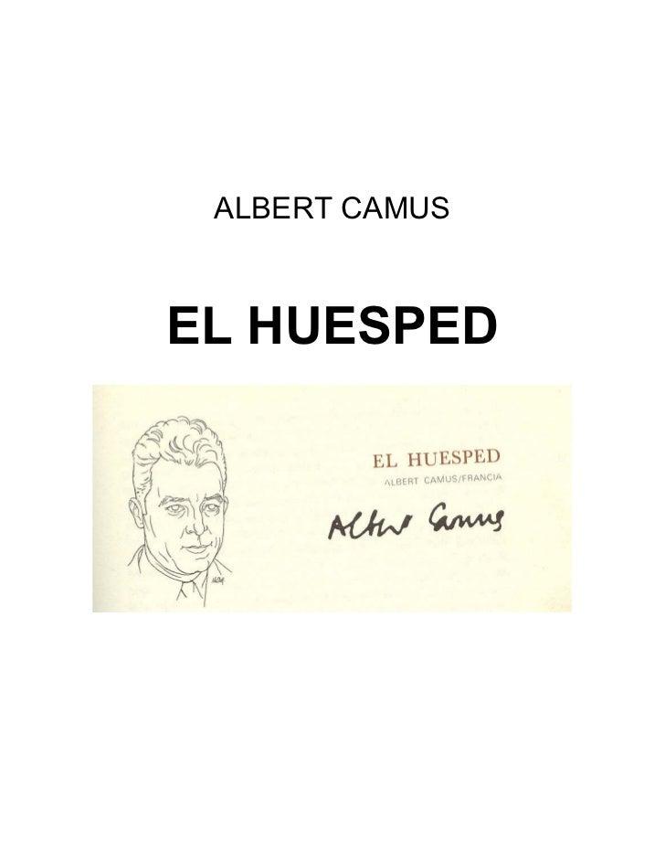 Albert camus   el huesped