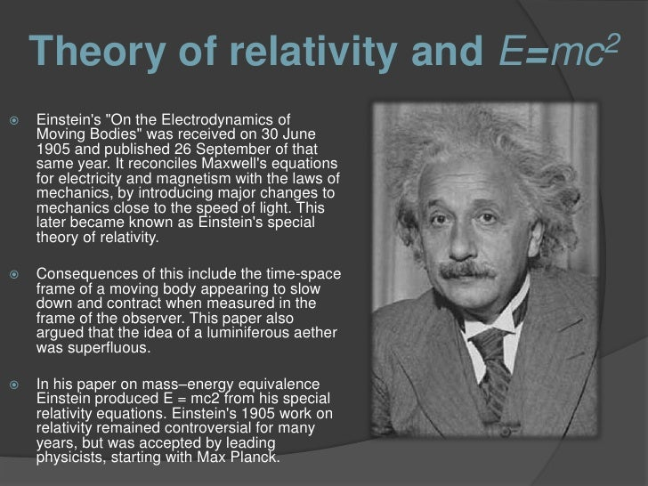 the contributions of albert einstein and his famous theory of relativity Quick answer albert einstein's greatest contribution to the world was his theory of relativity in which he described new ways of looking at time, space, matter, energy and gravity his works also provided the basis for advances such as the control of atomic energy, space exploration and applications of light.