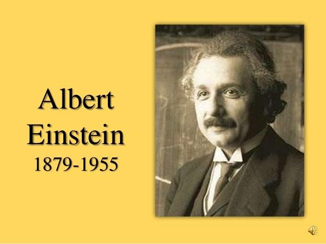 Albert einstein´s biography