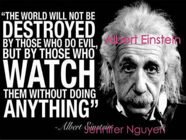 Albert einstein- jennifer nguyen