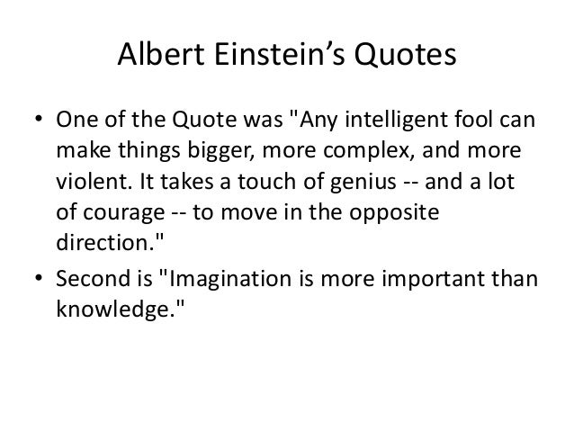 Short Essay On Albert Einstein