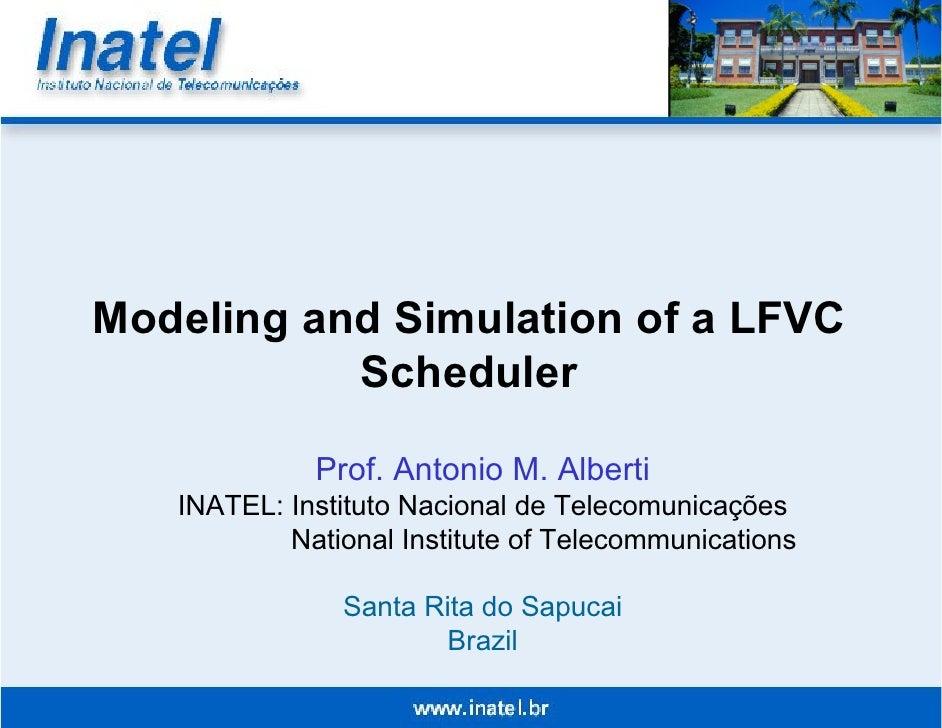 Apresentação feita em 2005 no Annual Simulation Symposium.