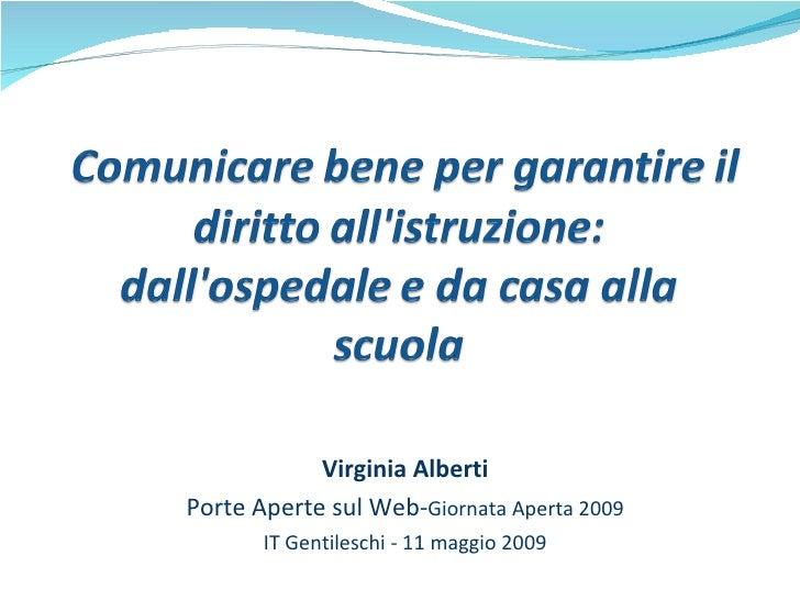 Alberti Intervento Porteaperte2009def