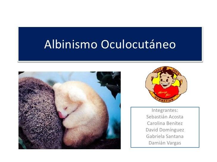 Albinismo oculocutáneo 3 el retorno del rey