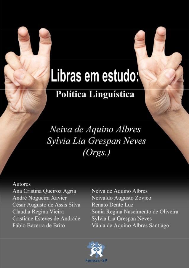Albres e neves 2013 libras política linguística