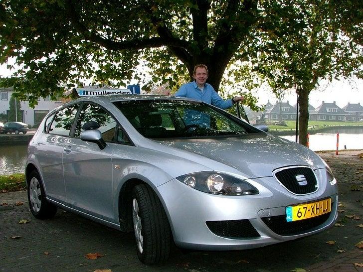 Instructeur Roeland Poelstra / Seat Leon