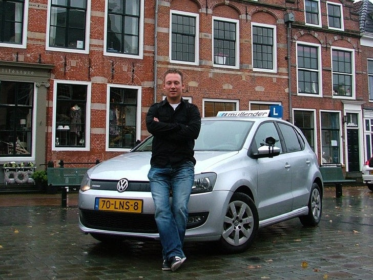 Instructeur Ritske Douma - VW Polo Bluemotion