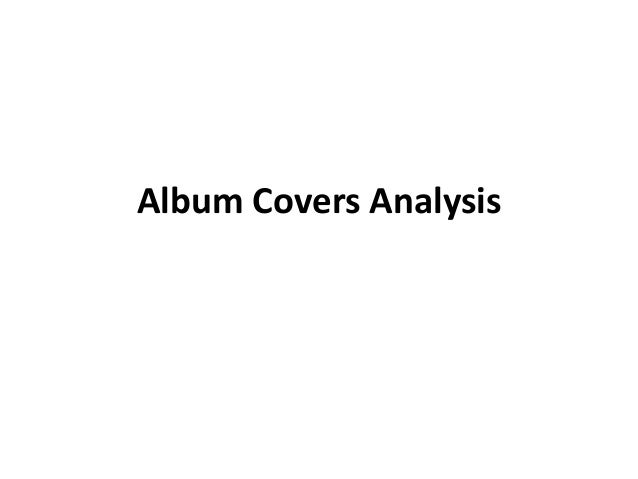 Album Covers Analysis
