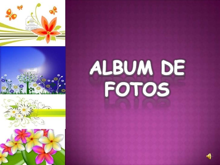 ALBUM DE FOTOS<br />