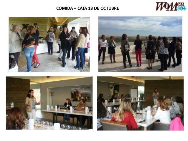 COMIDA – CATA 18 DE OCTUBRE