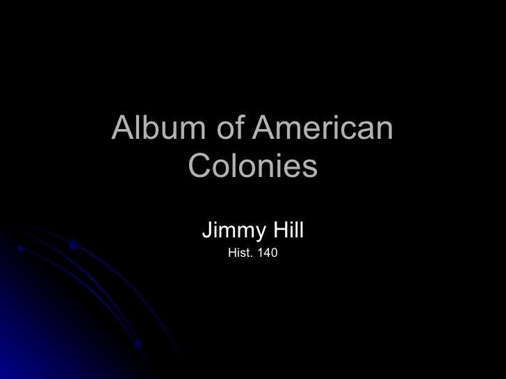 Album of american colonies