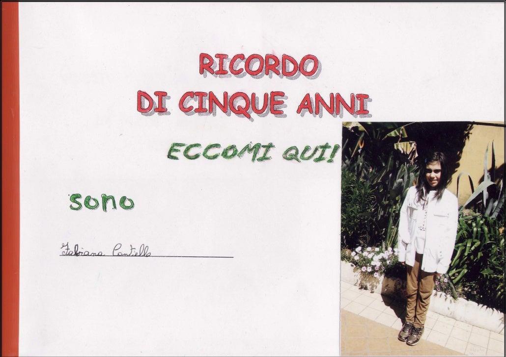 Album ricordo fabiana classe v b serao