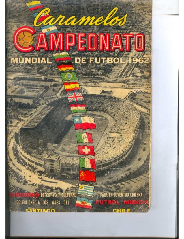 Album Salo Copa Mundia Chile 1962
