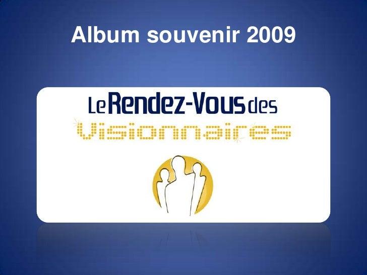 Album souvenir 2009<br />