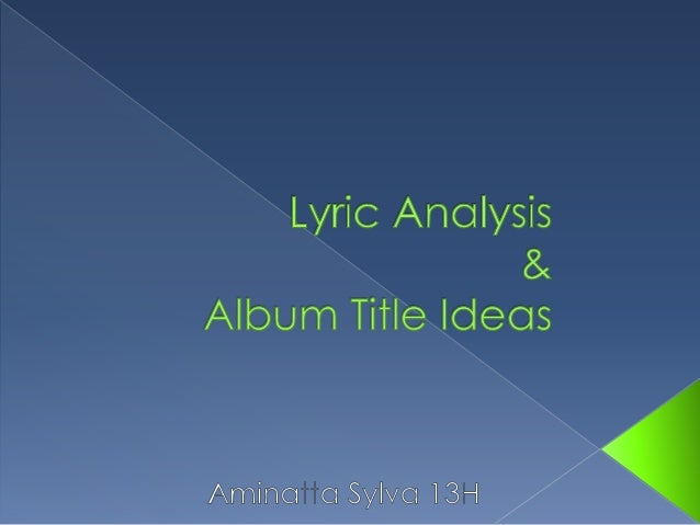 analysis of the title looking for 12052018 what makes for a good data analysis chart for a good chart, you should answer yes to every question:  does your graph have a title yes / no.