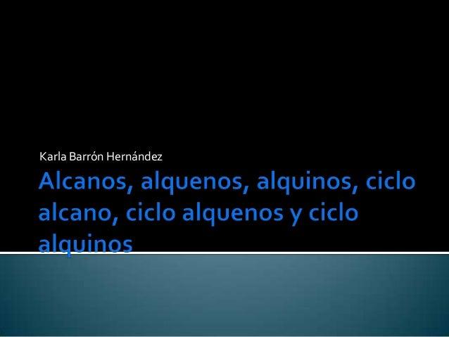 Karla Barrón Hernández