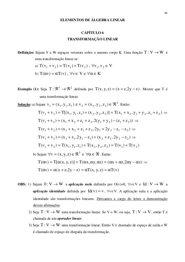 Algebra Linear cap  06