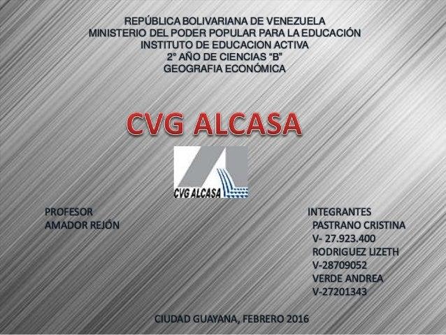 REPÚBLICA BOLIVARIANA DE VENEZUELA MINISTERIO DEL PODER POPULAR PARA LA EDUCACIÓN INSTITUTO DE EDUCACION ACTIVA 2° AÑO DE ...