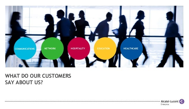 What Do Our Customers Say About Our Communications Solutions?