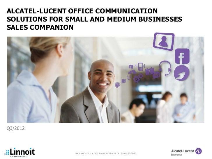 Alcatel Comm Solutions para SMB