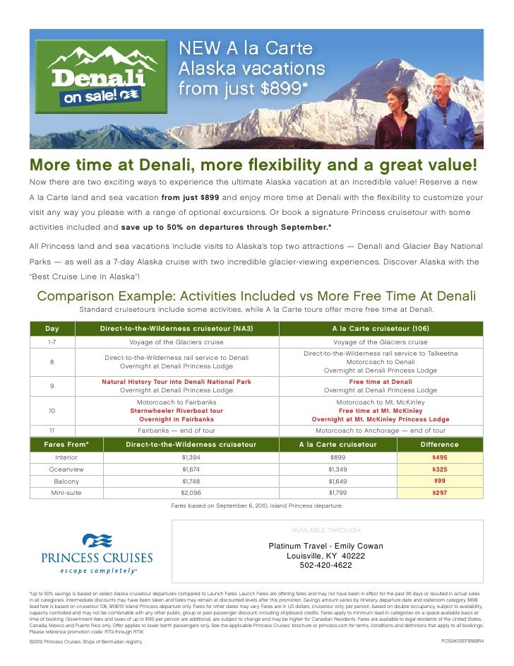 More time at Denali, more flexibility and a great value! Now there are two exciting ways to experience the ultimate Alaska ...