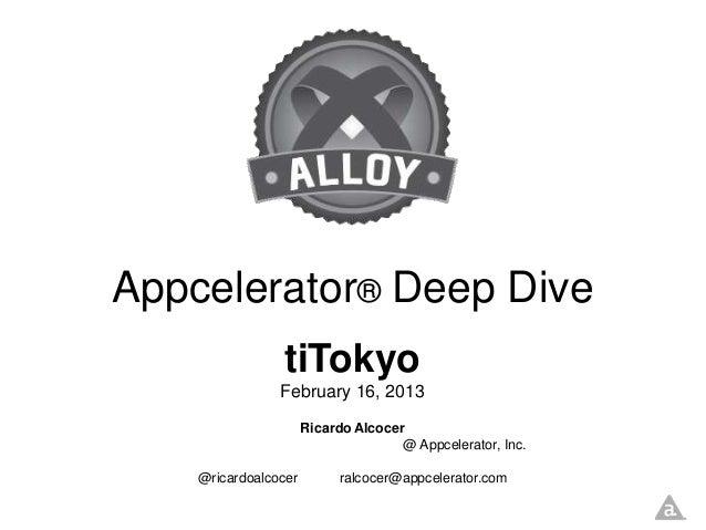 Slides for tiTokyo 2013 - Japanese version