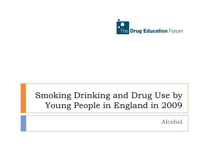 Alcohol use by young people in England in 2009