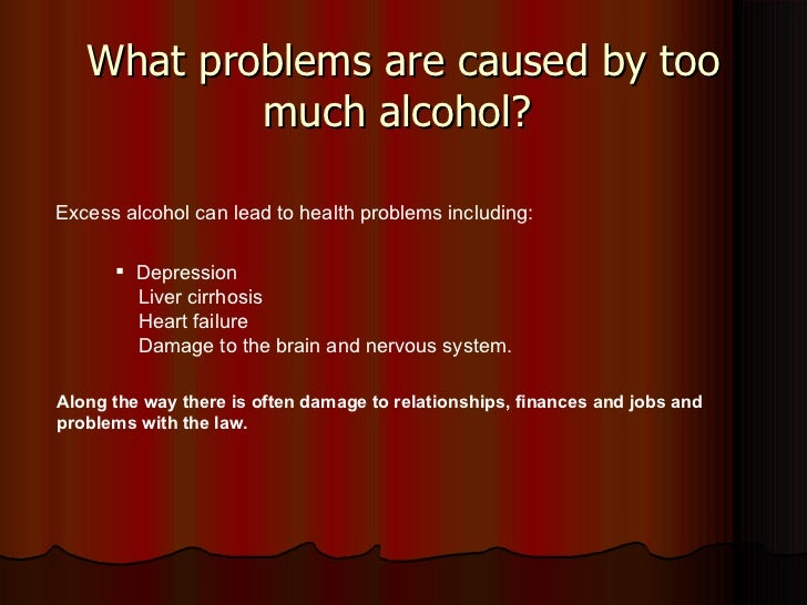 alcohol drug excess The excess alcohol the liver is unable to metabolize just disperses throughout  our body  christian treatment centers for drug and alcohol addiction are also .