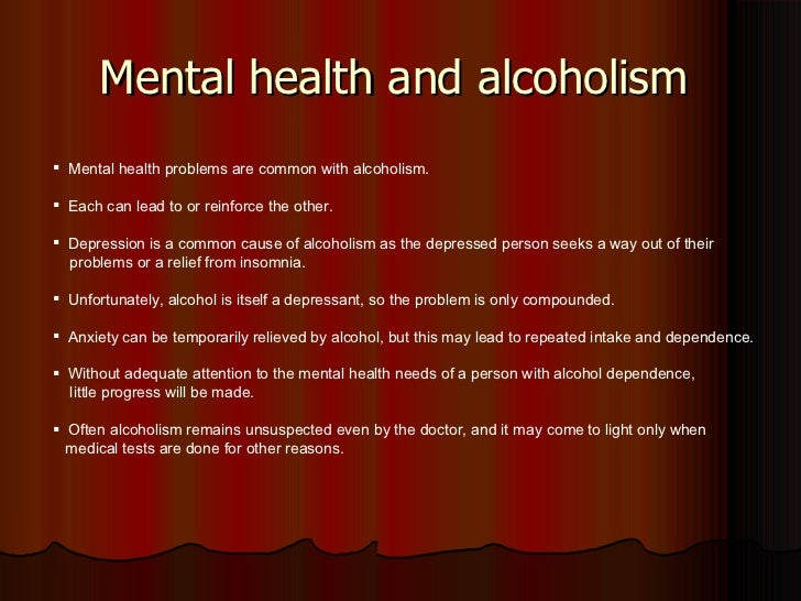 does substance abuse cause mental disorders Long term abuse has been linked to personality changes such as depression, paranoia, anxiety which can be related to psychological disorders it is often reported that substance abuse coincides with personality disorders, such as borderline personality disorder it has also now been linked to severe brain damage leading.