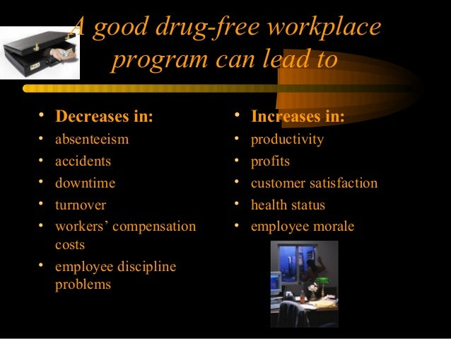 the affect of drug abuse on absenteeism accidents downtime turnover theft morale and productivity Question evaluate the effect of drug abuse in the workplace in terms of absenteeism, accidents, downtime, turnover, theft, morale and productivity (cite your references 100 words.