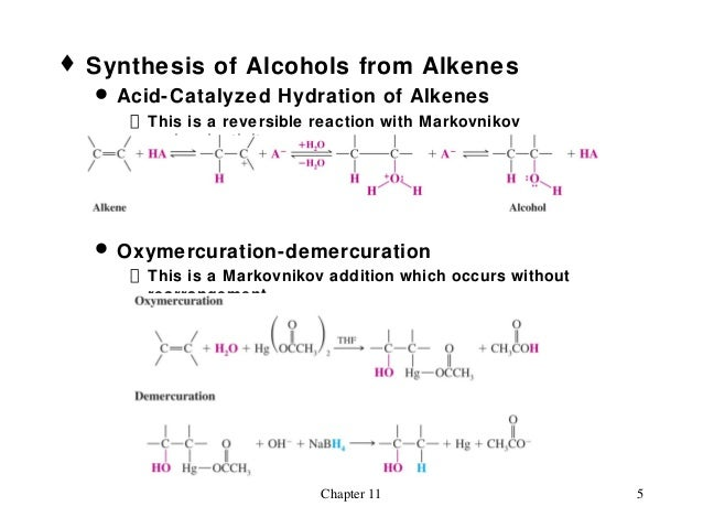 alkene synthesis from alcohol preparation of The peterson methodology has seen wide application in the synthesis of carbohydrates the preparation of 3-c gave acceptable ratios of alkene to alcohol.