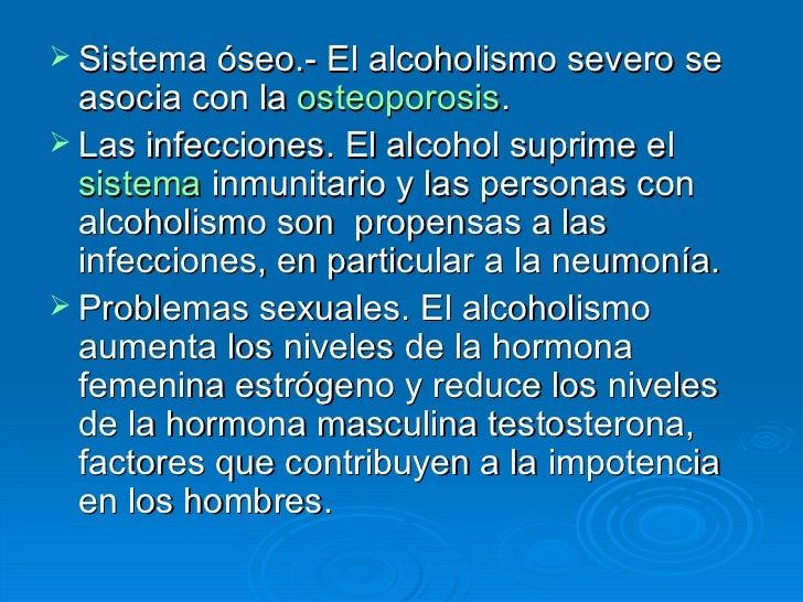 Que contraindicaciones a la codificación del alcoholismo