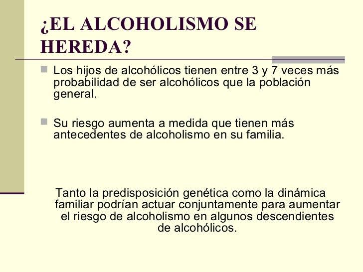 El alcoholismo el tratamiento knd