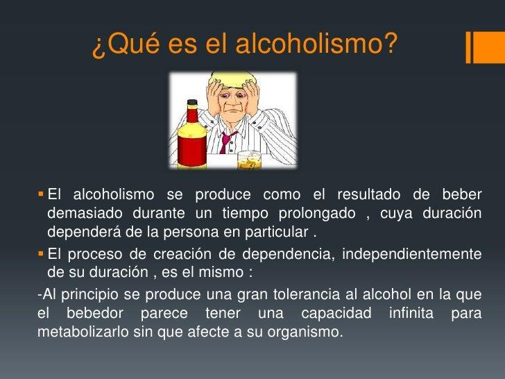 Cuáles causas del alcoholismo