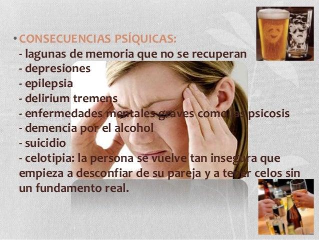 Los temas de las conferencias sobre el alcoholismo