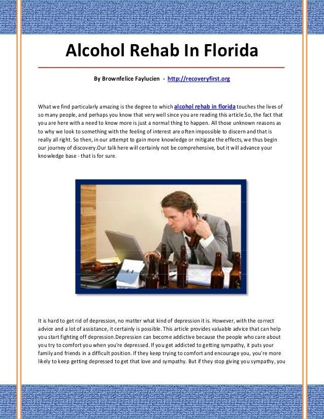 Alcohol Rehab In Florida_____________________________________________________________________________________             ...