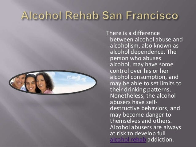 There is a difference between alcohol abuse and alcoholism, also known as alcohol dependence. The person who abuses alcoho...