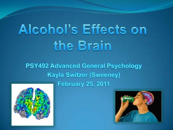 alcohol addiction on the brain