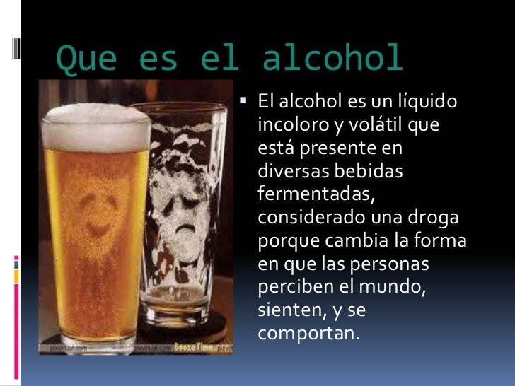 El alcoholismo el informe por obzh