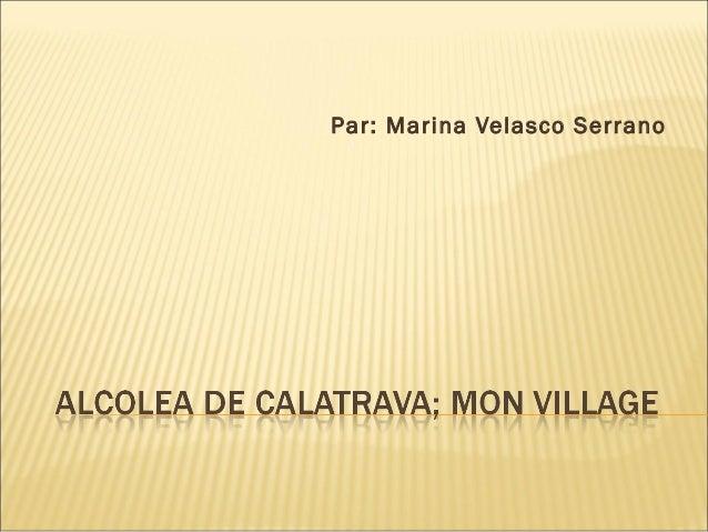 Par: Marina Velasco Serrano