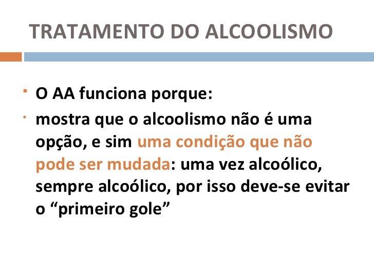 A codificação de alcoolismo e remoção