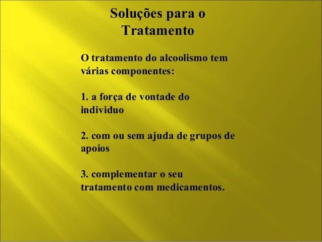 Dependência fisiológica e psicológica de alcoolismo