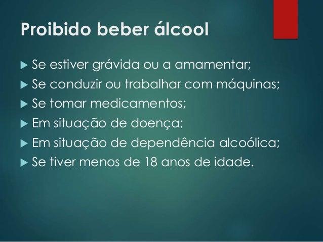 Relatório sobre prevenção de dependência alcoólica