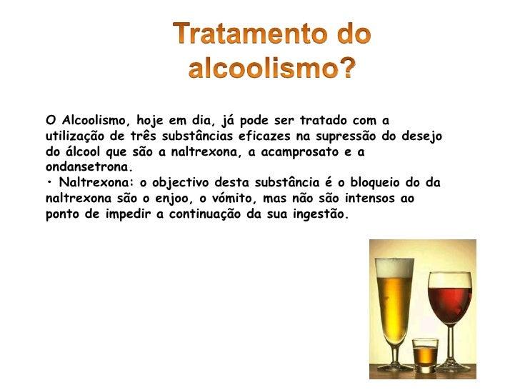 Placebo no momento de tratamento de alcoolismo