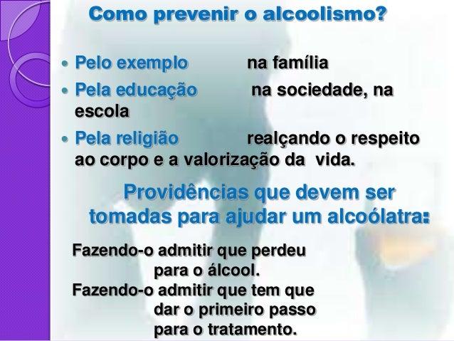 Orações de alcoolismo