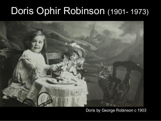 Ada Lovelace Day: Doris Ophir Robinson (1901- 1973)