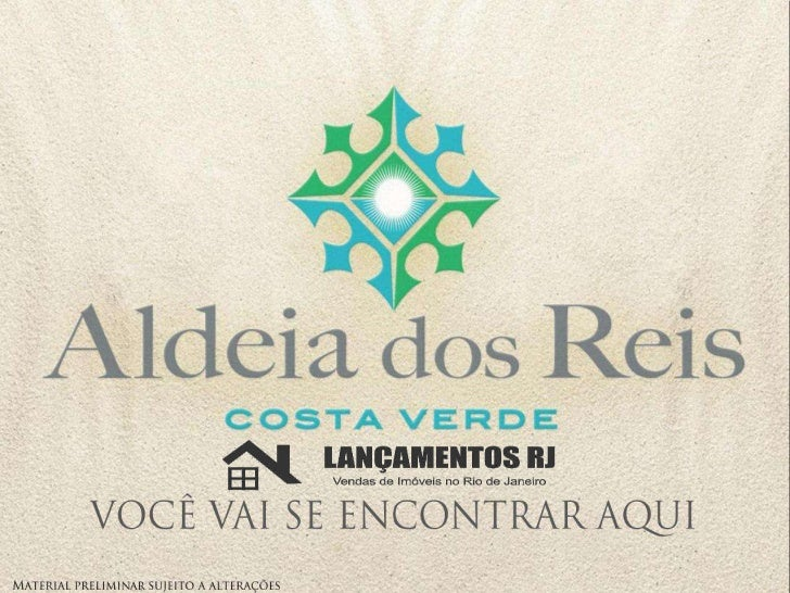 Aldeia dos Reis | www.lancamentosrj.com | Central de Atendimentos (21) 2510-3324